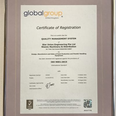 ISO 9001:2015 By Global Group United Kingdom